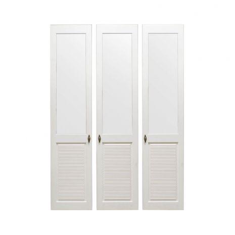 Комплект дверей к стеллажу Рауна-30 (белый воск - УКВ)