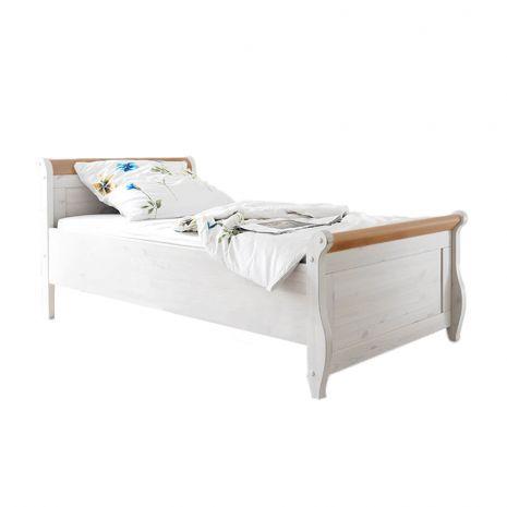Кровать Мальта 100 без ящиков (антик)