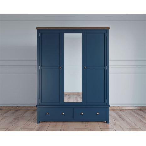 Шкаф широкий с зеркалом Jules Verne