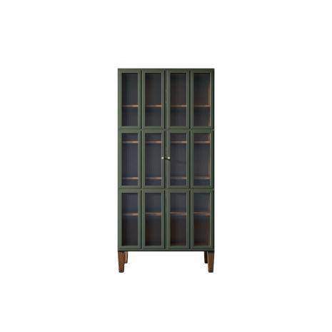 Шкаф двухстворчатый Andersen с рифлеными стеклами