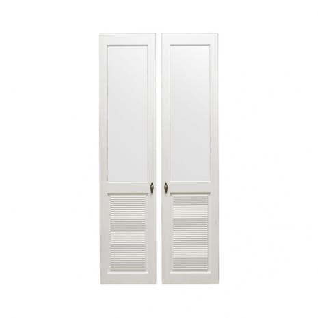 Комплект дверей к стеллажу Рауна-20 (белый воск - УКВ)