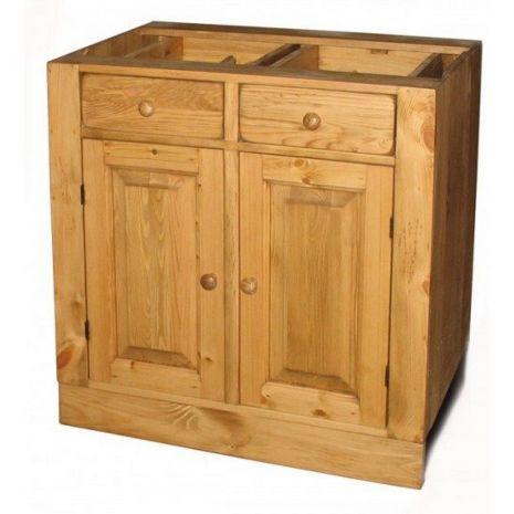 Шкаф-стол ПЛ04 2 ящика, 2 двери 60