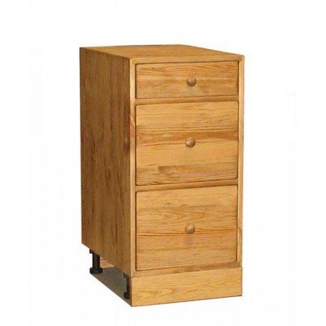 Шкаф-стол ПЛ06 3 ящика 40
