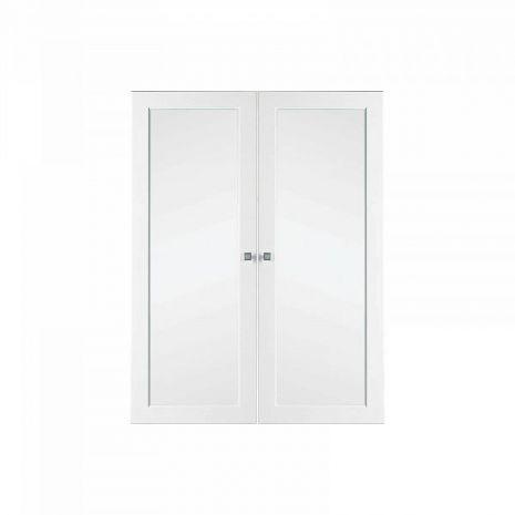 Комплект дверей к стеллажу Ольса (Н-1000 стекло)