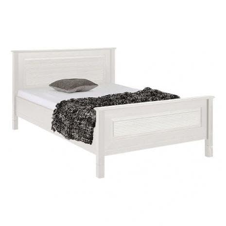 Кровать Рауна 140x200 (белый воск УКВ)