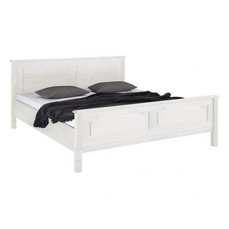 Кровать Рауна 160x200 (белый воск УКВ)