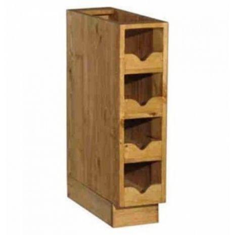 Шкаф-стол ПЛ22 узкий бутылочница