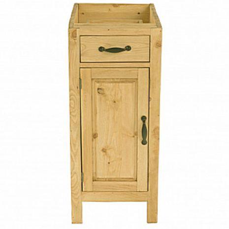 Шкаф-стол CH-BT 40 (1 дверь, 1 ящик) Шампань