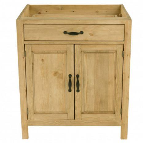 Шкаф-стол CH-BT 80 (2 двери, 1 ящик) Шампань