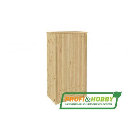 Шкаф двухдверный Pino Rino с ящиком