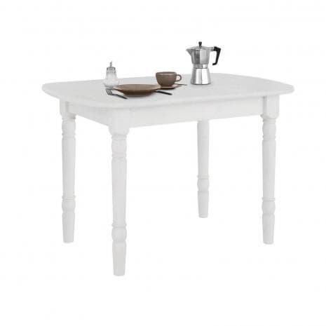 Стол обеденный Севилья (110) белый воск УКВ