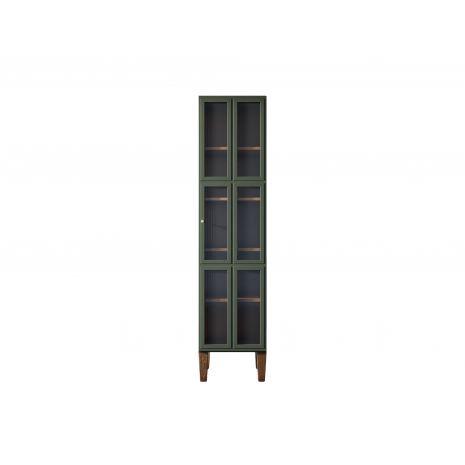 Шкаф одностворчатый Andersen с рифлеными стеклами