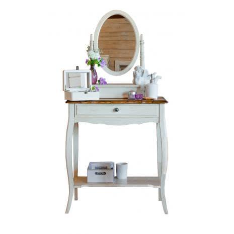 Туалетный столик с овальным зеркалом Belveder ST9321