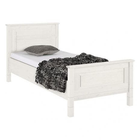 Кровать Рауна 90x200 (белый воск УКВ)