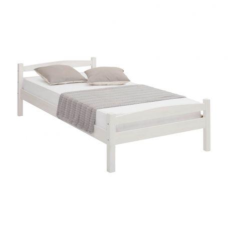 Кровать Самет 90х200 белый воск
