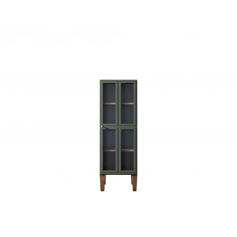 Шкаф-витрина Andersen с рифлеными стеклами