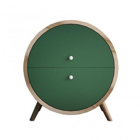 Тумба Ellipse круглая с ящиками EL10G