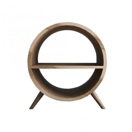 Тумба Ellipse круглая с полкой EL11