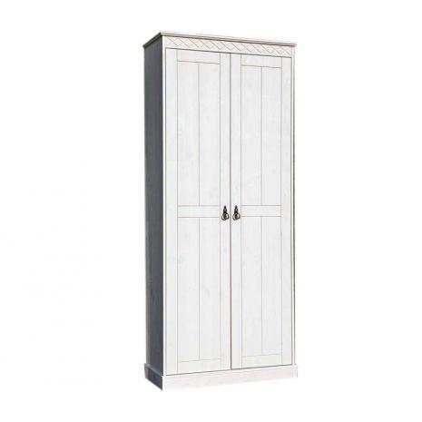Шкаф Индра Д6155 белый воск