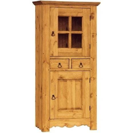 Шкаф для посуды ГРАНД ОМД со стеклом