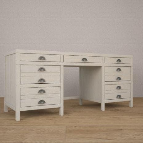 Стол с ящиками WoodCorner (Белый)