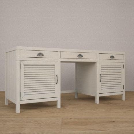 Стол с жалюзи WoodCorner (Белый)