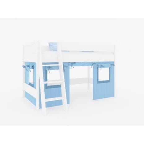 Декоративные шторы кровати-чердака Сиело