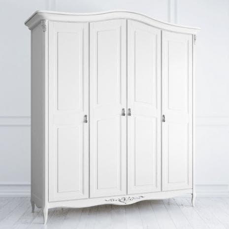 Шкаф 4 двери Silvery Rome