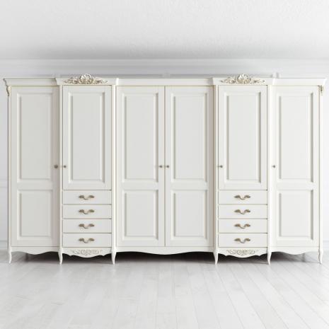 Шкаф 6 дверей Atelier Gold
