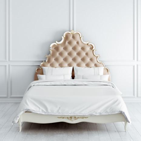 Кровать с мягким изголовьем 160 x 200 Atelier Gold