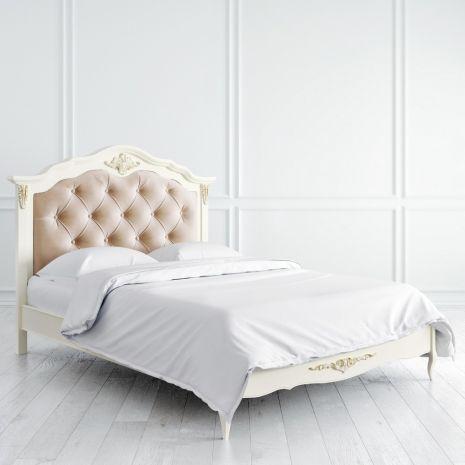 Кровать Romantic Gold с мягким изголовьем 120*200