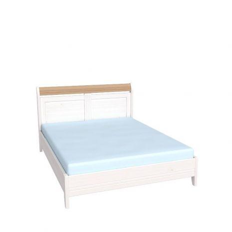 Кровать Бейли без изножья 140х200 белый воск-антик