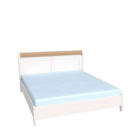 Кровать Бейли без изножья 180х200 белый воск-антик