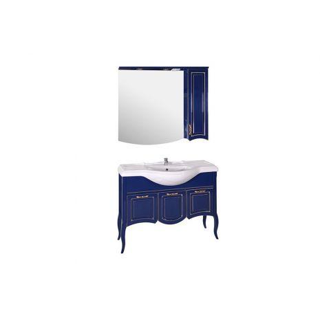 Комплект мебели для ванной Эмили 105 Синий