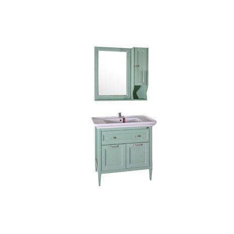 Комплект мебели для ванной Гранда 85 Verde со шкафчиком