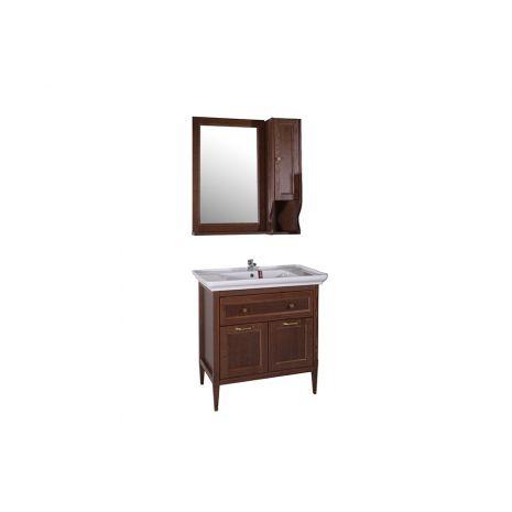 Комплект мебели для ванной Гранда 85 Антикварный орех