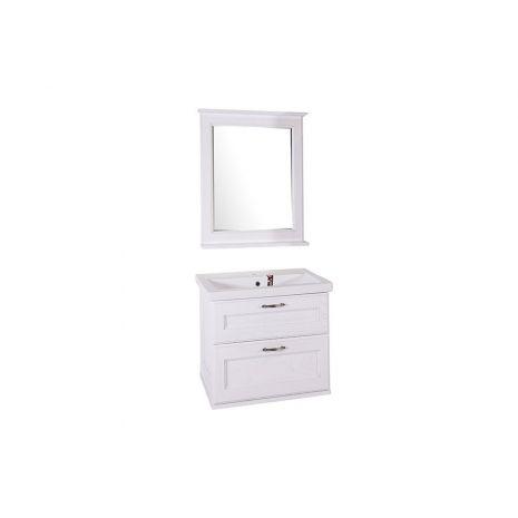 Мебель для ванной Прато 70 Патина серебро
