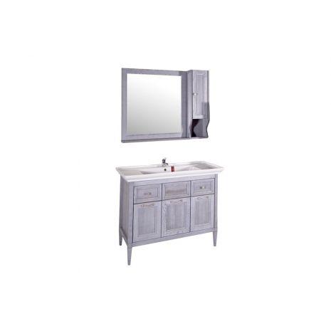 Комплект мебели для ванной Гранда 105 Grigio