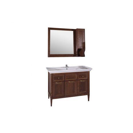 Комплект мебели для ванной Гранда 105 Антикварный орех