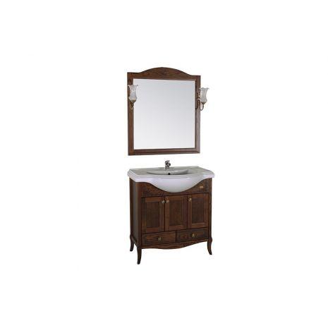 Комплект мебели для ванной Салерно 80 Антикварный орех