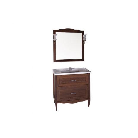 Комплект мебели для ванной Римини Nuovo 80 Антикварный орех