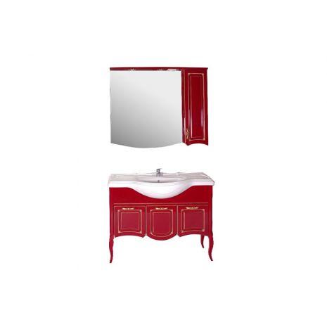 Комплект мебели для ванной Эмили 105 Красный