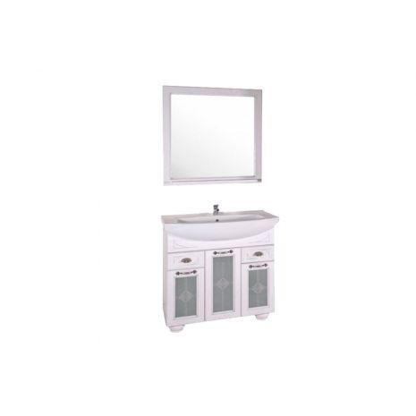 Комплект мебели для ванной Бергамо 85