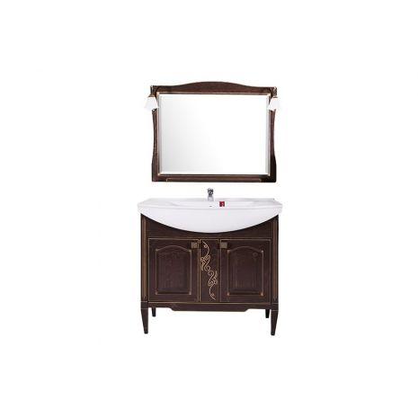 Комплект мебели для ванной Модена 85 Антикварный орех