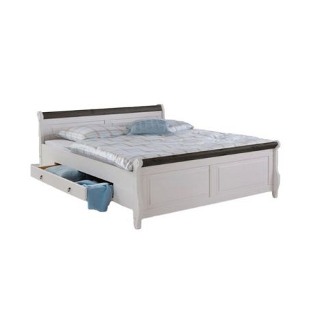 Кровать Мальта с ящиками 160х200 (колониал)