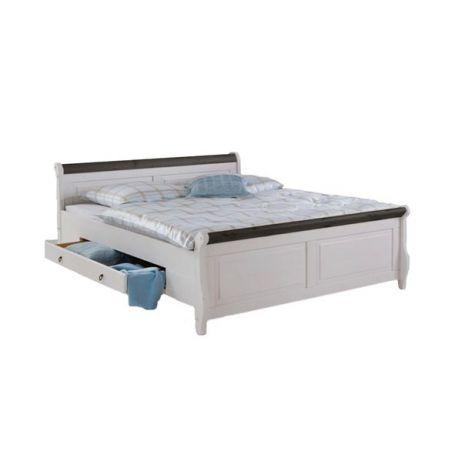 Кровать Мальта с ящиками 140х200 (колониал)