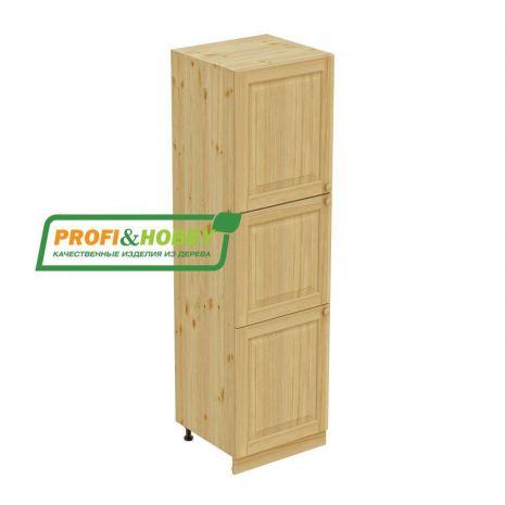 Пенал 3 двери с полками 222 Profi&Hobby