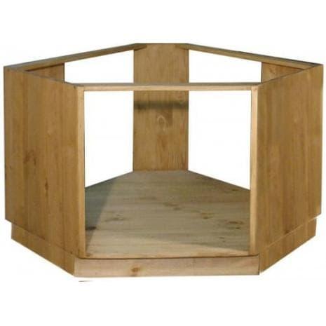 Шкаф-стол угловой под плиту ПЛ 39
