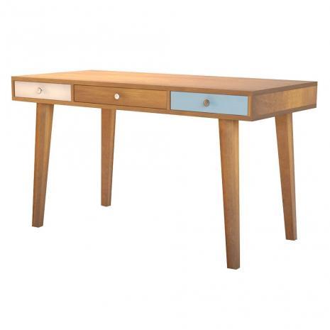 Рабочий стол Aquarelle Birch с тремя ящиками
