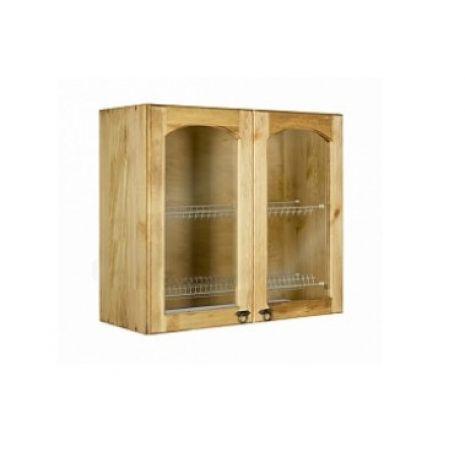 Шкаф настенный сушка с 2 стекл. дверками Викинг GL 60 №22